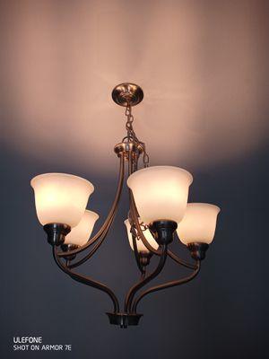 LED soft nickel chandelier for Sale in Las Vegas, NV