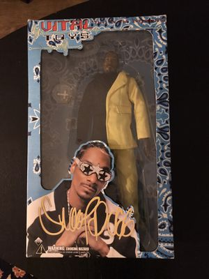 Snoop Dogg Vital Toys Action Figure Doll circa 2002 for Sale in Vancouver, WA