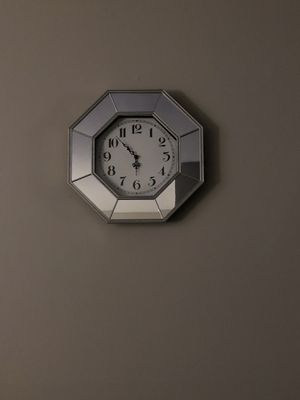 Mirror wall clock for Sale in NJ, US