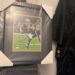 Taysom Hill Signed Photo Frame for Sale in Rosedale, MD