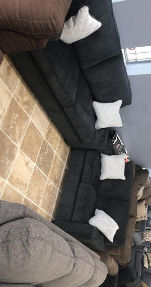 🍻New Ashley Gray/Slate Living Room Set / Couches☆Sofa & Loveseat included☆Chair and Ottoman sold separately💥39 DOWN PAYMENT🍻 for Sale in Houston, TX