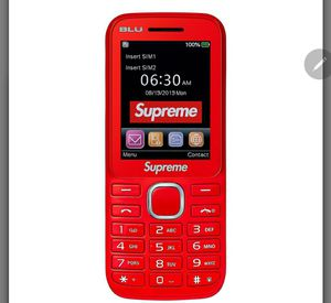 Supreme burner phone for Sale in Woodbridge, VA