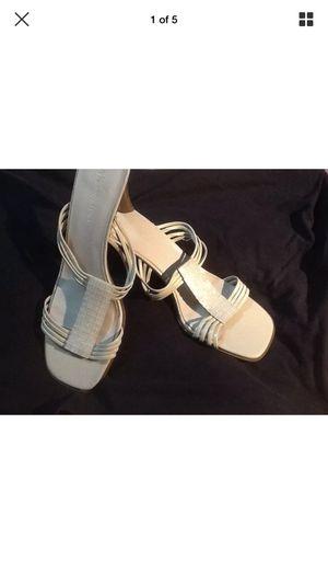 Anne Klein Mother of pearl sandals/slings size 9.5 for Sale in Roanoke, VA