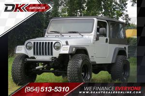 2005 Jeep Wrangler for Sale in Hollywood, FL