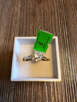 925 sterling silver promise engagement weeding ring size 8 for Sale in San Jose, CA