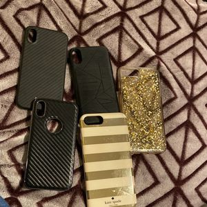 3 iPhone X and Xs Phone Case AND 2 iPhone 7plus/8plus for Sale in Murfreesboro, TN