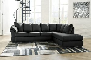💦[SPECIAL] Darcy Black RAF Sectional 💦 for Sale in Jessup, MD