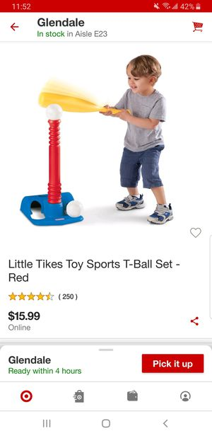 Little tikes tball set. New in box. 10 Firm for Sale in Glendale, AZ