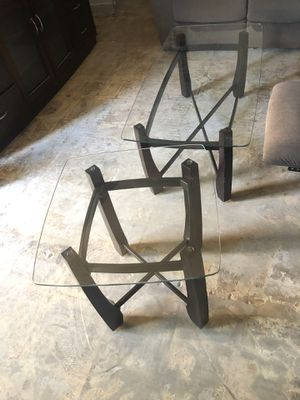 Glass coffee table and matching side table FREE for Sale in Jamul, CA