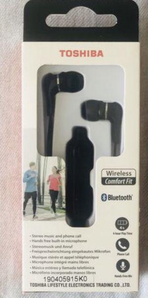 Toshiba Wireless Bluetooth Stereo In-ear Headphones for Sale in El Cajon, CA