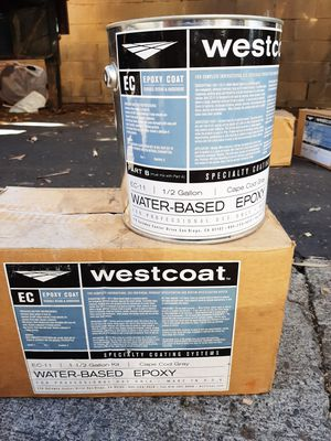 Wescoat Professional High Strength Floor Epoxy for Sale in Laguna Beach, CA