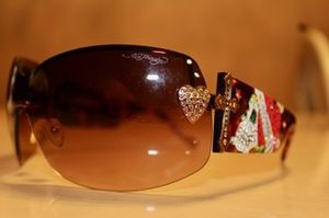 Ed Hardy Sunglasses with Case for Sale in Corpus Christi, TX