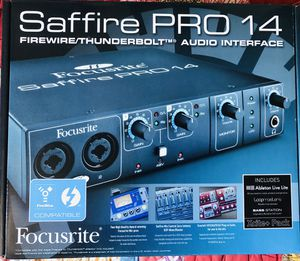 Focusrite Saffire Pro 14 Audio Interface for Sale in West Hollywood, CA