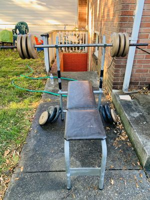 Bench, Bar and Weights for Sale in Silver Spring, MD