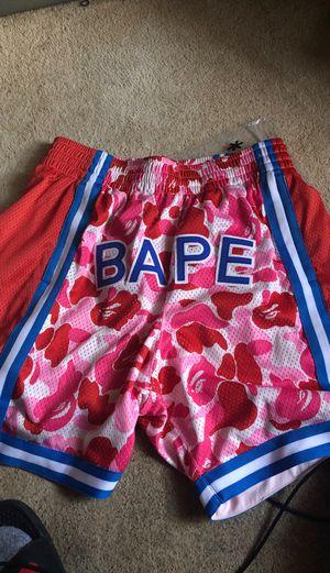 Large bape shorts never worn for Sale in Newport News, VA