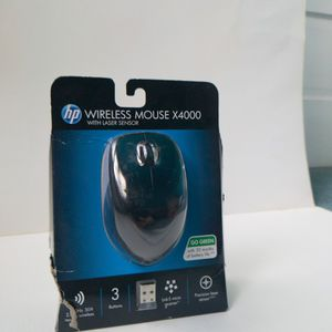 HP - X4000 Wireless Laser Mouse - Black for Sale in Chicago, IL