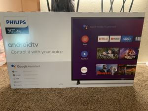 Philips 50 inch 4K Tv for Sale in Grand Prairie, TX