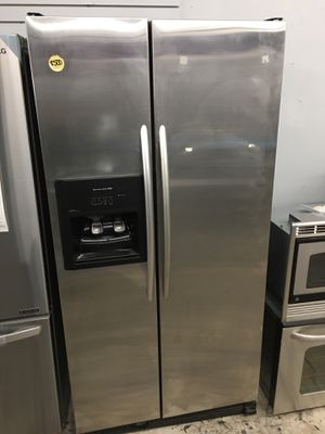 Kitchen aid side by side refrigerator counter depth for Sale in Lake Forest, CA