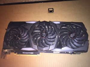Msi rtx 2080 ti gaming x trio for Sale in South Bend, IN