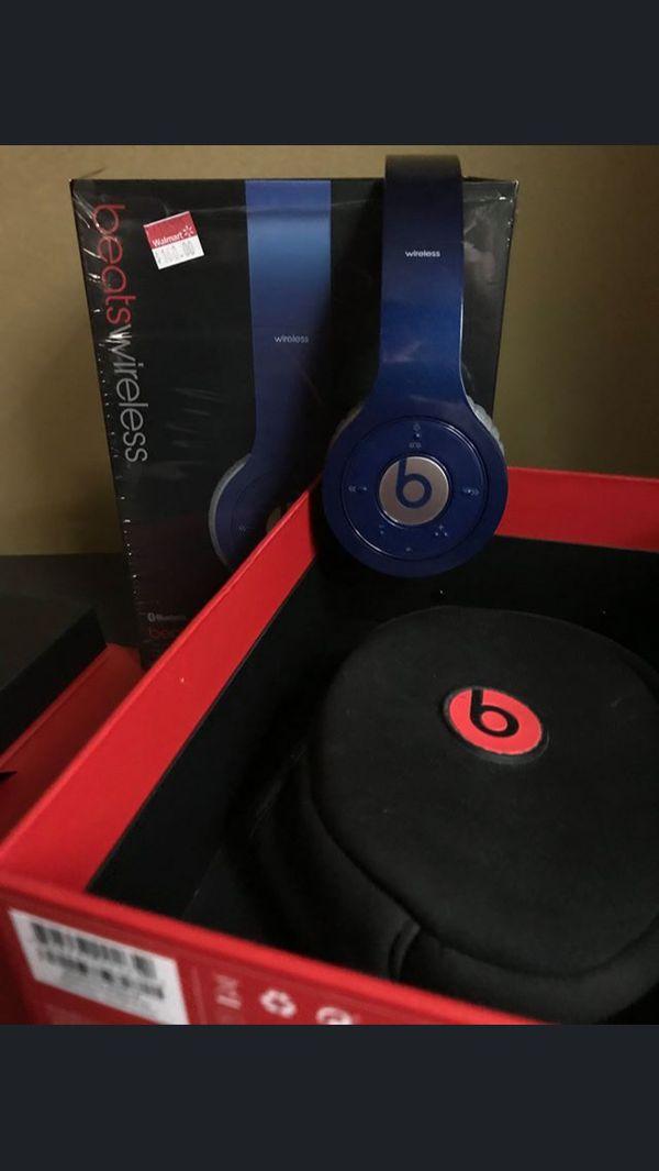 Beats by Dre Wireless Headphones - EUC