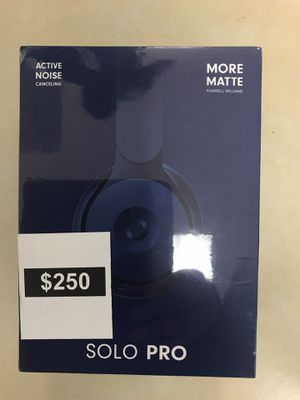 Beats solo pro for Sale in Rialto, CA