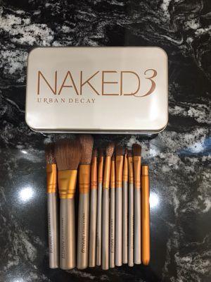 Naked 3 Makeup Brush Set for Sale in Burlington, NJ