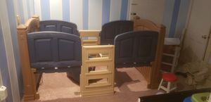 step 2 boys loft and storage twin bed for Sale in Brunswick, OH