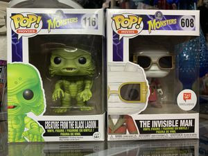 The creature from the black lagoon & The invisible man (Sold Together) for Sale in Fresno, CA