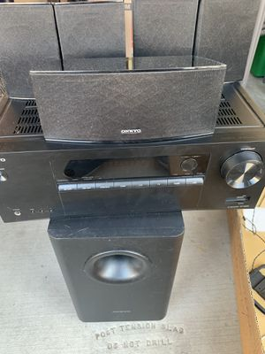 Home stereo system Bluetooth brand new. for Sale in Las Vegas, NV