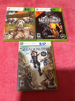 Xbox 360 games for Sale in Houston, TX