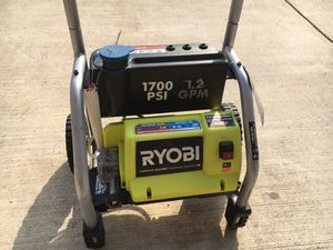 Ryobi 1700 PSI 1.2 GPM with Powercare Hose. for Sale in Fort Worth, TX