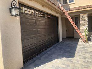 Garage doors new or used for Sale in Jurupa Valley, CA