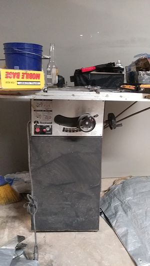 Rockwell table saw for Sale in Kansas City, MO