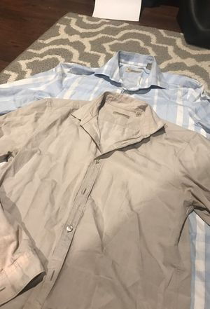 Burberry London and Burberry Brit men's shirts. for Sale in Chantilly, VA