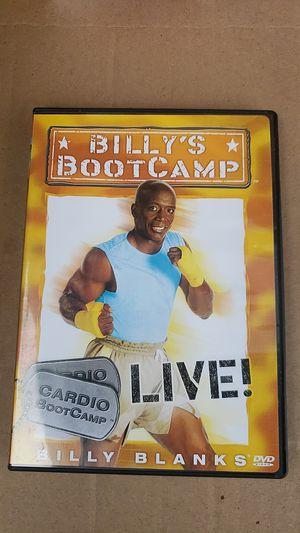 Billy Blanks BootCamp Cardio DVD for Sale in Woodbridge, VA