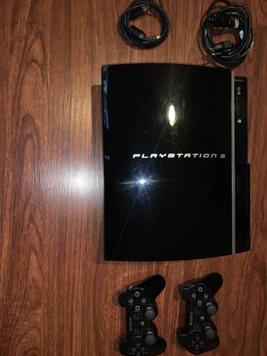 PS3 with 2 controls and charger. for Sale in Cutler Bay, FL