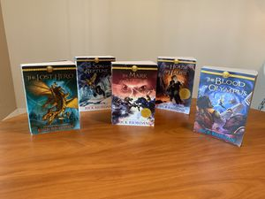The Heroes of Olympus - Rick Riordan 5 book set for Sale in Plantation, FL