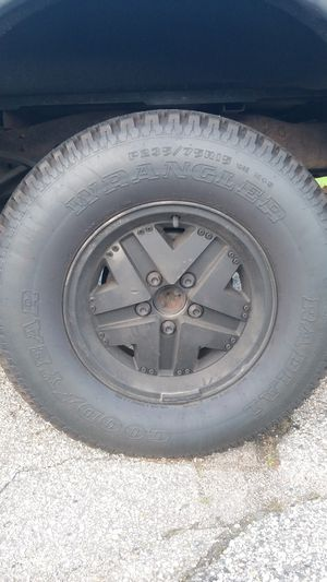 Ford ranger/jeep wheels and tires for Sale in Cranston, RI