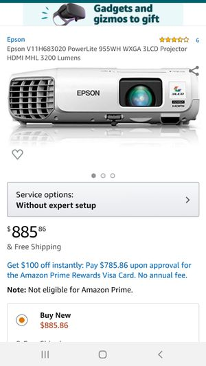 Epson 955WH Projector for Sale in Commerce, CA