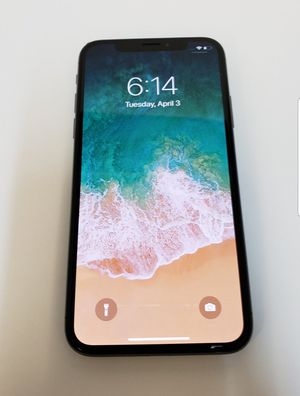 iPhone X 64GB UNLOCKED for Sale in Anaheim, CA