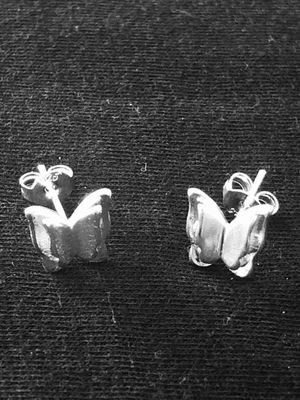 Sterling Silver stud earrings / butterfly for Sale in Las Vegas, NV