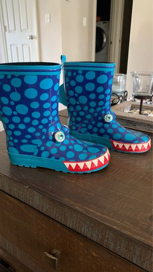 Boys rain boots for Sale in Pekin, IL