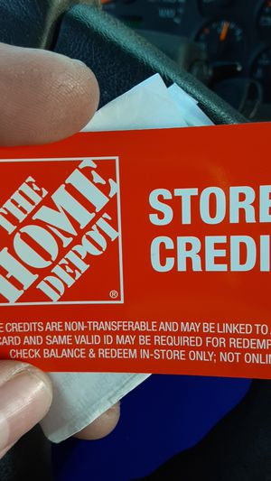 Home depot store credit for Sale in Vancouver, WA