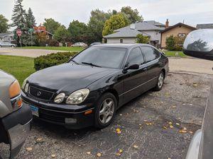 LEXUS GS400 BLACK ON BLACK for Sale in Carol Stream, IL