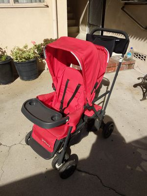 Joovy Caboose Ultralight double stroller for Sale in Beverly Hills, CA