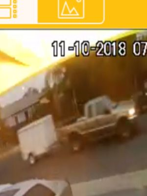Stolen Utility Trailer by gold Pick up for Sale in Fremont, CA