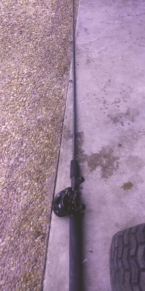 Fishing rod & reel for Sale in Hampton, VA