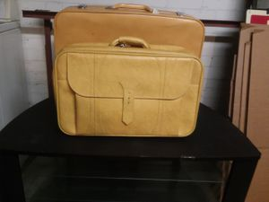 Mustard-Yellow Luggage! for Sale in Grosse Pointe, MI