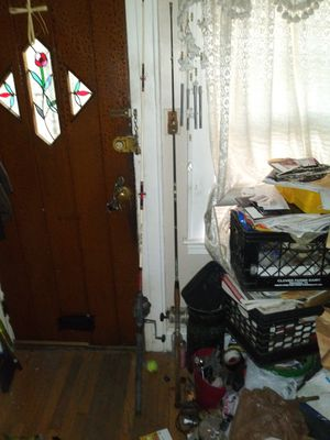 Two deep water fishing rods with reels. Used pickup only for Sale in Queens, NY