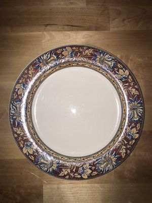 Dinner plates (small and large) - 2 sets of 9 for Sale in Mesa Grande, AZ